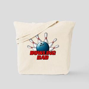Bowling Dad (pins) Tote Bag