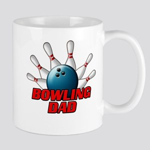 Bowling Dad (pins) Mug