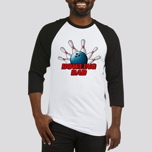 Bowling Dad (pins) Baseball Jersey