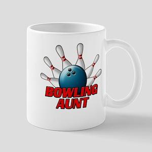 Bowling Aunt (pins) Mug