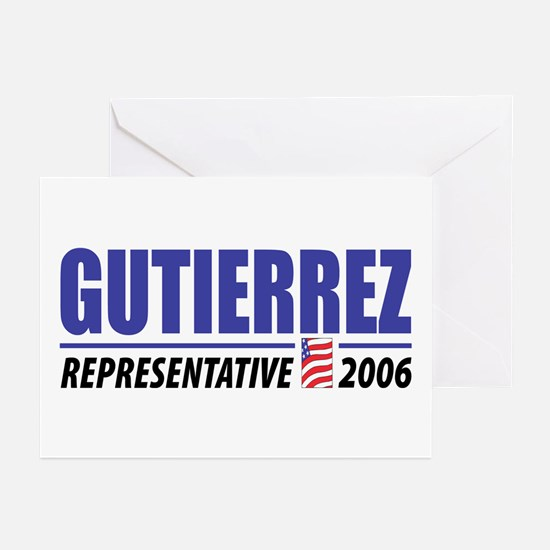 Gutierrez 2006 Greeting Cards (Pk of 10)