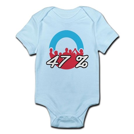 We are the 47 % Infant Bodysuit