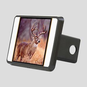 Wildlife Deer Buck Rectangular Hitch Cover