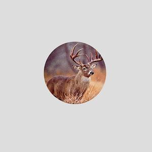 Wildlife Deer Buck Mini Button