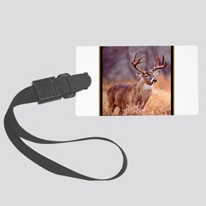 Wildlife Deer Buck Large Luggage Tag