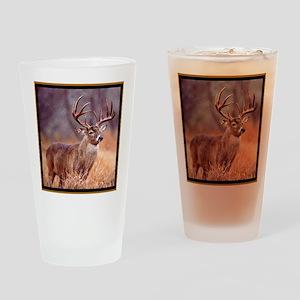Wildlife Deer Buck Drinking Glass