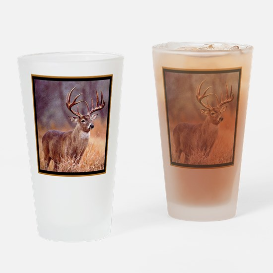 Wildlife Deer Buck Drinking Glass