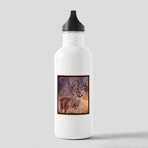 Wildlife Deer Buck Stainless Water Bottle 1.0L