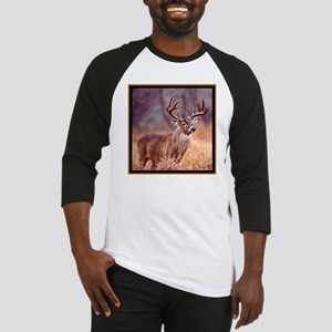 Wildlife Deer Buck Baseball Jersey