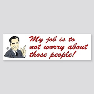 Shit Romney Says Bumper Sticker