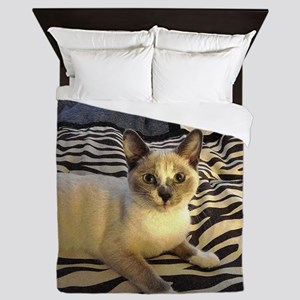 Tilly The Kitty Queen Duvet