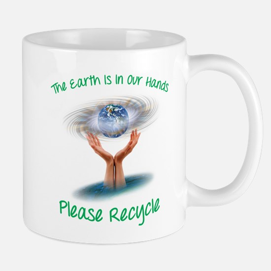 The earth is in our hands Mug