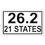 262in21 Sticker (Rectangle 10 pk)