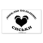 CTEPBA.com Sticker (Rectangle 10 pk)
