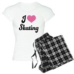 I Love Skating Women's Light Pajamas