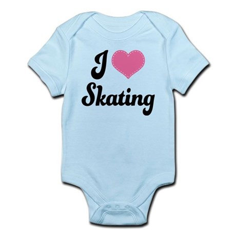 I Love Skating Infant Bodysuit