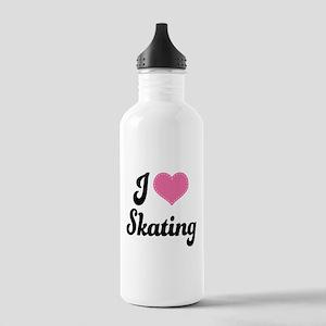 I Love Skating Stainless Water Bottle 1.0L