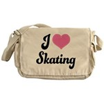 I Love Skating Messenger Bag