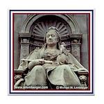 Victoria Statue Tile Coaster