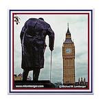 Churchill & Big Ben Tile Coaster