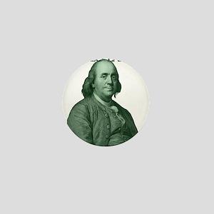 Ben Franklin - Hello Ladies Mini Button