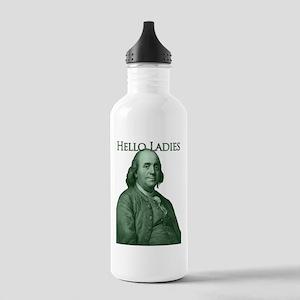 Ben Franklin - Hello Ladies Stainless Water Bottle