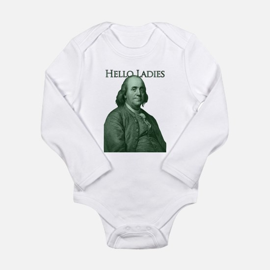 Ben Franklin - Hello Ladies Long Sleeve Infant Bod