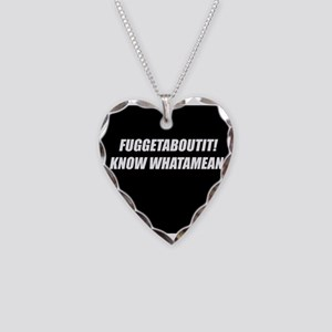 FuggetAboutIt! Necklace Heart Charm