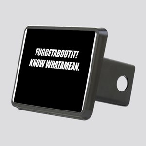 FuggetAboutIt! Rectangular Hitch Cover