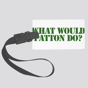 Patton Large Luggage Tag