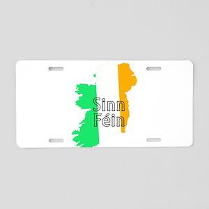 Sinn Féin Small Aluminum License Plate