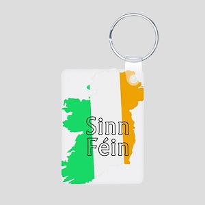 Sinn Féin Small Aluminum Photo Keychain