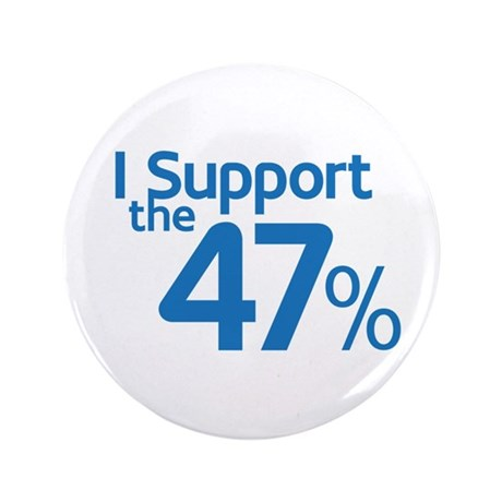 """I Support the 47% 3.5"""" Button"""