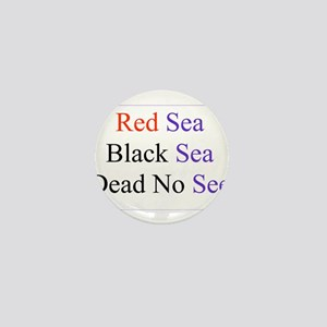 Israel Red Black Dead Seas Mini Button (10 pack)