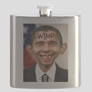 OBAMA WIMP Flask