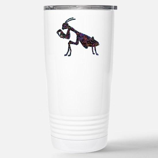 Praying Mantis Stainless Steel Travel Mug