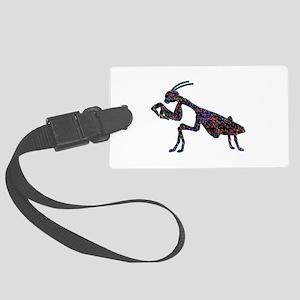 Praying Mantis Large Luggage Tag