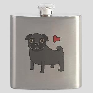 PugBlack Flask