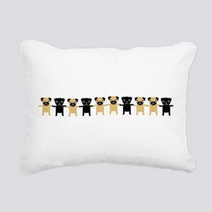 StingOPugsLong Rectangular Canvas Pillow