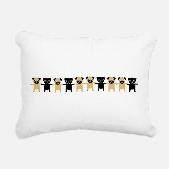 StingOPugsLong.bmp Rectangular Canvas Pillow