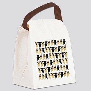 StingOPugsLong Canvas Lunch Bag