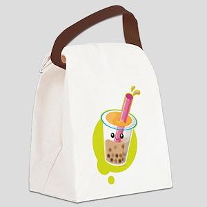 Boba Tea Canvas Lunch Bag