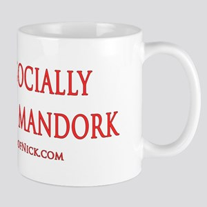 Socially Awkward Mandork Mug