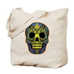 Colorful skull Tote Bag