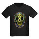 Colorful skull Kids Dark T-Shirt