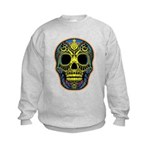 Colorful skull Kids Sweatshirt