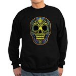 Colorful skull Sweatshirt (dark)