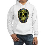 Colorful skull Hooded Sweatshirt