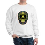 Colorful skull Sweatshirt