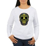 Colorful skull Women's Long Sleeve T-Shirt